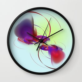 the two of us a magic thing Wall Clock