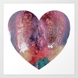 Remedy Sky's Heart Shaped Vulva Art Print