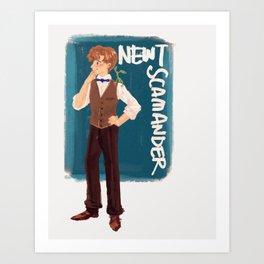 Newt Scamander Art Print