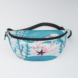 Whales pattern design Fanny Pack