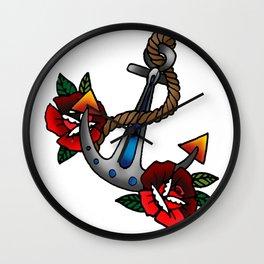 Sailor tattoo Wall Clock