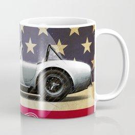 Laguna Seca Racetrack Vintage Coffee Mug