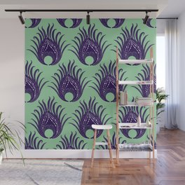 Fierce Feathers Wall Mural