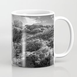 Cliffs along Cape Point, South Africa Coffee Mug