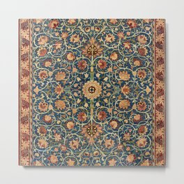 Holland Park Carpet by William Morris (1834-1896) Metal Print