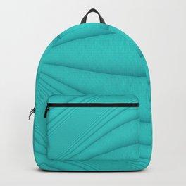 Brushed Aqua Contours Backpack