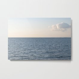 Cloud Contemplation Metal Print