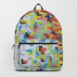 Warm Blocks Cloud Backpack