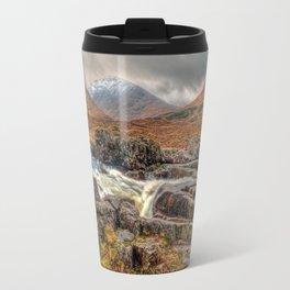 Winter Falls Travel Mug
