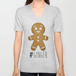 #Ginger Unisex V-Neck