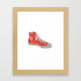 Retro Chuck's Framed Art Print