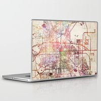 denver Laptop & iPad Skins featuring Denver by MapMapMaps.Watercolors