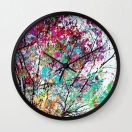Autumn 8 Wall Clock