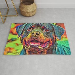 AnimalColor_Dog_004_by_JAMColors Rug