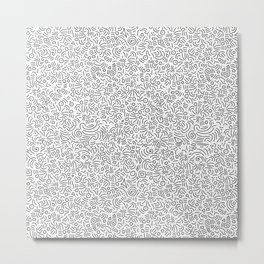 crazy strokes Metal Print