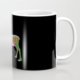 Abstract Reindeer Coffee Mug