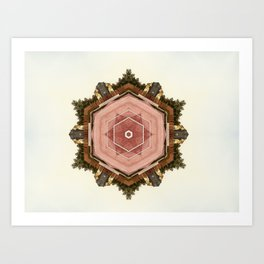 Urban Mirror # 1 Art Print