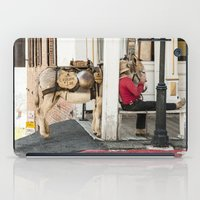 donkey iPad Cases featuring Donkey by Joëlle Paquet