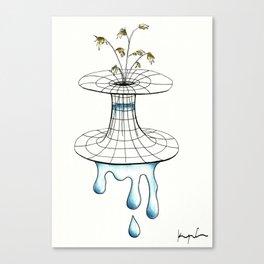 worm vase Canvas Print