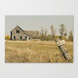 Abandoned South Dakota 2616 Canvas Print