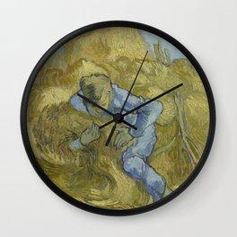 The Sheaf-Binder (after Millet) Wall Clock