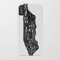 manhattan iPhone & iPod Cases featuring Manhattan by Robert Farkas