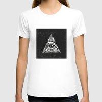 illuminati T-shirts featuring Illuminati by Jenny Joleen
