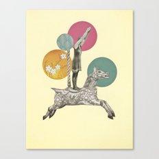 Runaway Horse Canvas Print