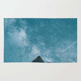 Blue Mountains Blue Sky - Landscape Photography Rug