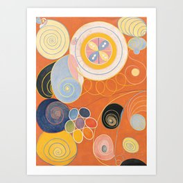 Hilma af Klint - Group IV, No. 3. The Ten Largest, Youth Art Print