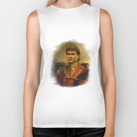 patrick Biker Tanks featuring Patrick Swayze - replaceface by replaceface
