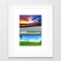 bali Framed Art Prints featuring Bali by Larry Rud