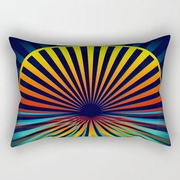 Sunset abstract 194 Rectangular Pillow