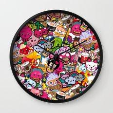 Supercombo #2 Wall Clock