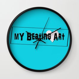My Beating Art Wall Clock