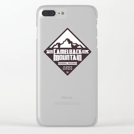 Camelback Mountain Clear iPhone Case