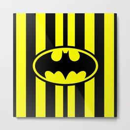Bat Man Classic Metal Print