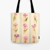 army Tote Bags featuring Flower Army by Paula Belle Flores