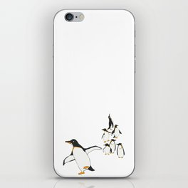 Penguin Party _ Walk This Way iPhone Skin