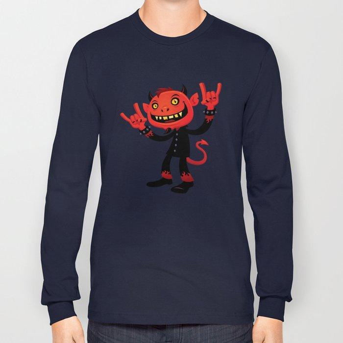 Heavy Metal Devil Long Sleeve T-shirt