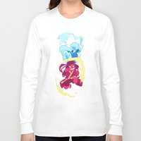 the last airbender Long Sleeve T-shirts featuring Steven Universe x Avatar The Last Airbender by Matereya