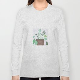 """""""Dirt and Leaves"""" Long Sleeve T-shirt"""