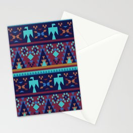 American Native Pattern No. 118 Stationery Cards