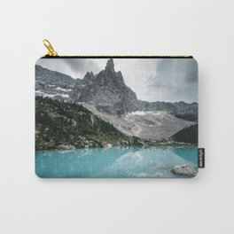 Mountain view with lake Sorapis in the Italian Dolomites Carry-All Pouch