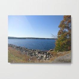 Scituate Reservoir, Rhode Island  Photograph #8 by Jeanpaul Ferro Metal Print