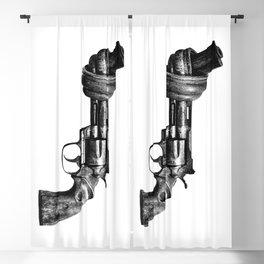 Twisted gun Blackout Curtain