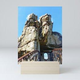The Externsteine II, Teutoburg Forest Mini Art Print