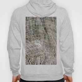 textured jute fabric for background and texture Hoody