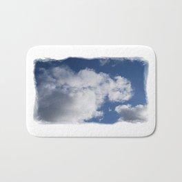 Clouds Over Hill Bath Mat