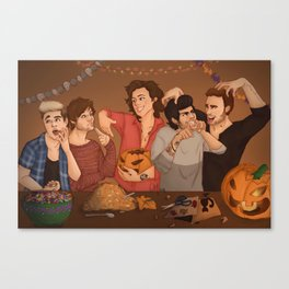 Halloween OT5 Canvas Print